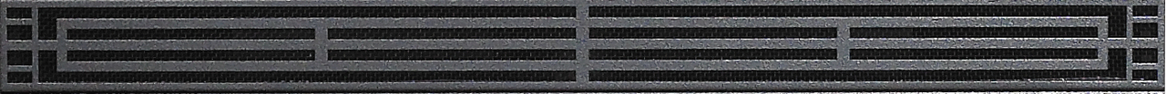 """White Mountain Hearth DVG22MBL 22"""" Mission Louvers in Matte Black"""