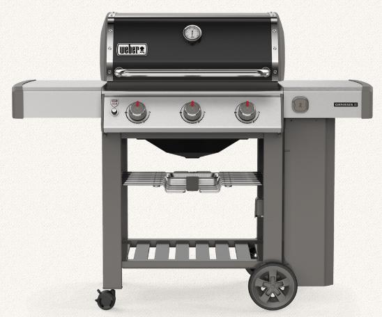 Weber 61011001 Genesis II E-310 Freestanding Gas Grill - LP - Black