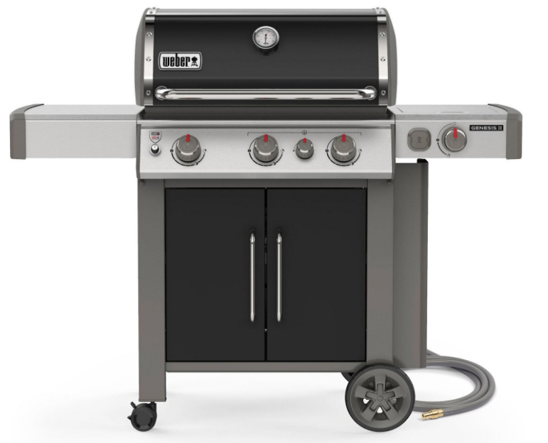 Weber 66016001 Genesis II E-335 Freestanding Gas Grill - NG - Black