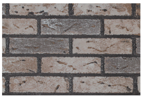 White Mountain Hearth DVP20BW Washed Brick Liner for Small Innsbrook DV Insert