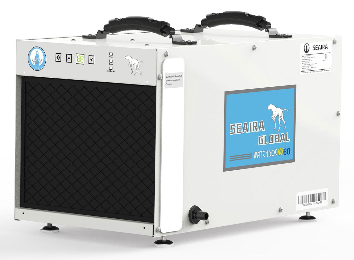 Seaira WatchDog NXT60 60 Pints Per Day Crawl Space Dehumidifier