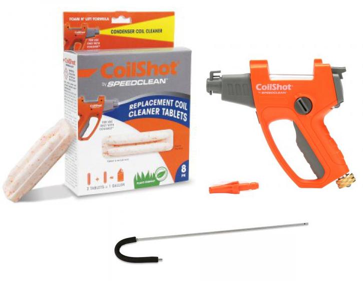 SpeedClean CS-DELUXEKIT CoilShot Condenser Cleaner Starter Kit