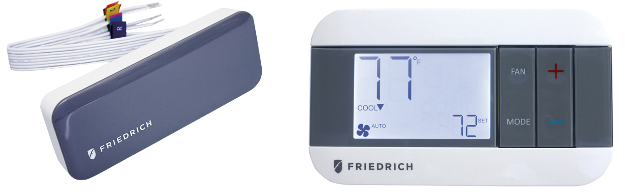 Friedrich WRT-2 Wireless Digital Remote Programmable Wall Thermostat