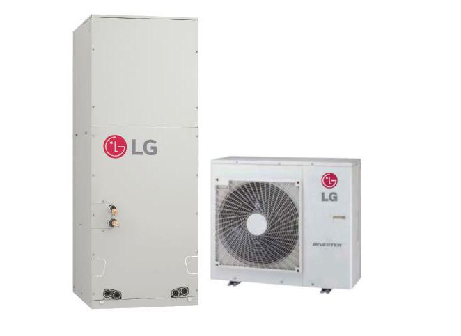 LG LV241HHV4 24000 BTU 2 Ton Single Zone Mini-Split System with Multi-Position Air Handler - Heat and Cool - Energy Star
