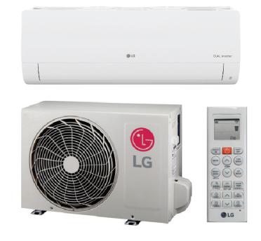 LG LS090HXV2 9000 BTU Mega Series Single Zone Mini Split System with Heat Pump - 115V