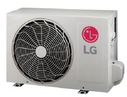 LG LSU120HXV2 12000 BTU Mega Series Outdoor Unit - 115V