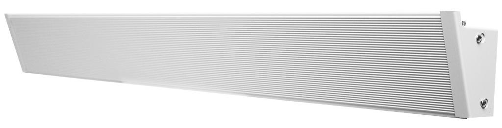 "King KCV2407-W 59"" 525/700 Watt Electric Cove Heater - 208/240 Volt"