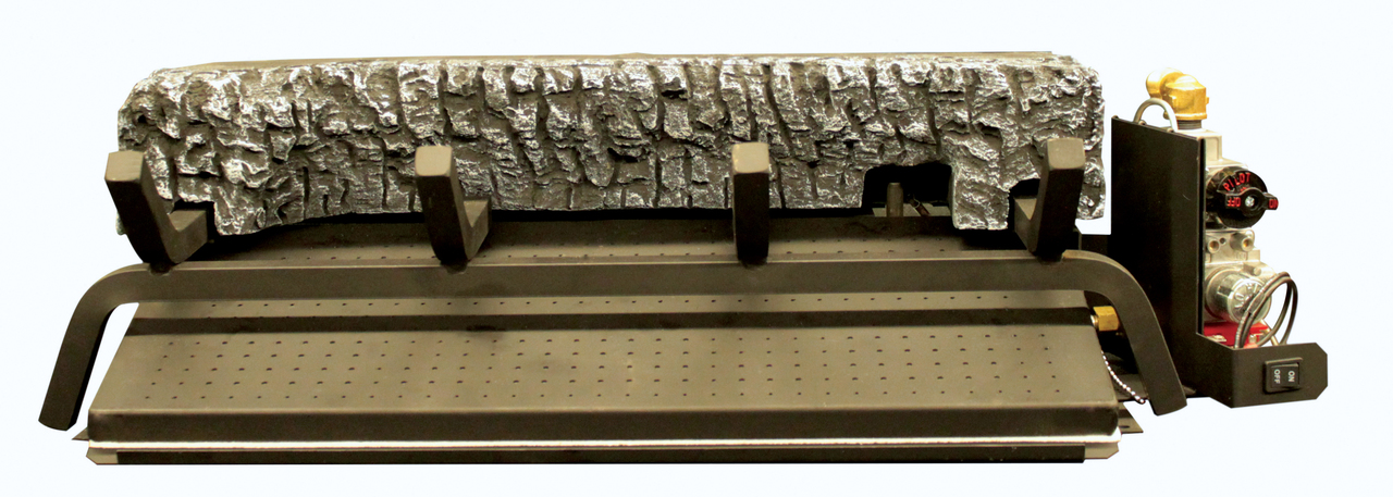 """White Mountain Hearth BFE2124MTN 24"""" Elite Radiant Vented Burner with Variable Flame Electronic Ignition - Natural Gas"""