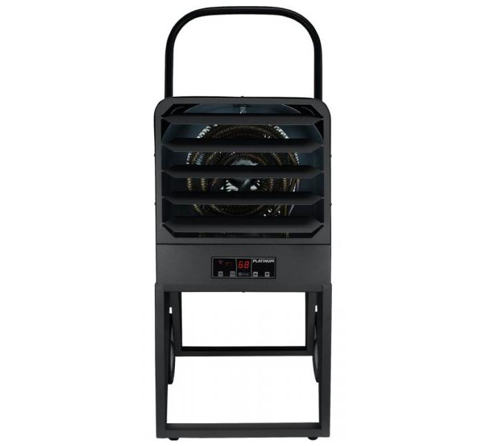King PKB2410-1-P PKB Platinum Industrial Electric 7.5/10 kW Heater - 208/240/1/60