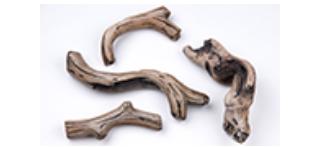 "Superior DWLS-RNCL35 Driftwood Log Set for DRL 35"""