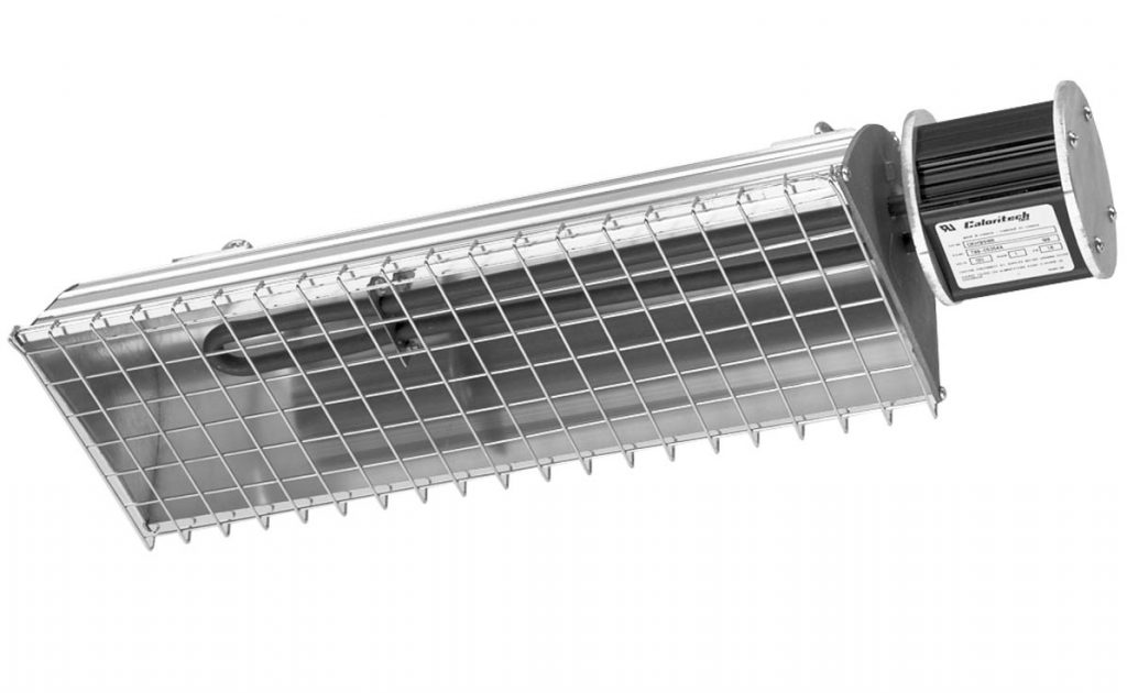 King OKH191H6R-120 1600 Watt Hairpin Element Electric Radiant Heater, Indoor or Outdoor Use - 120V