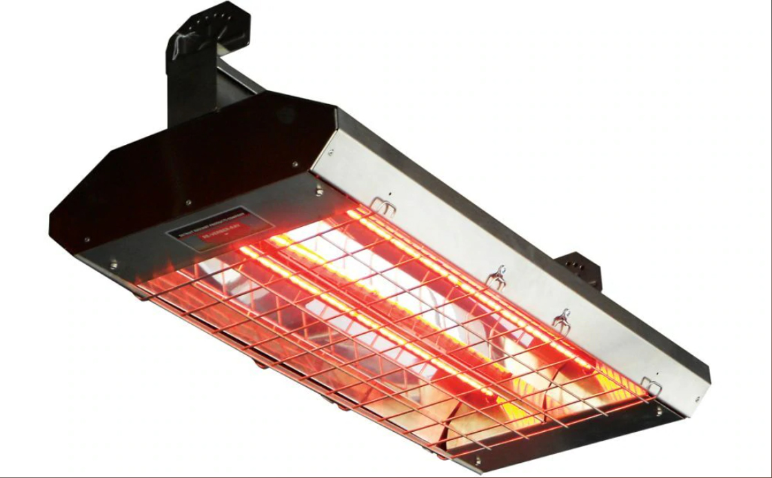 """King RH-24B2 RH 24"""" Radiant Heater 3200 Watts Double Clear Lamps - Choice of Voltage"""