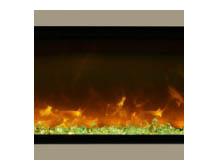 "Amantii SYM-88-SURR-BRON Bronze Surround For 88"" Symmetry & Symmetry-B Electric Fireplaces"