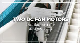 2 DC Fan motors