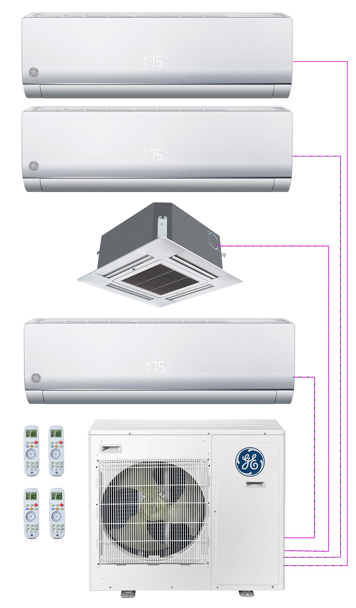 GE Endure 4 Zone System
