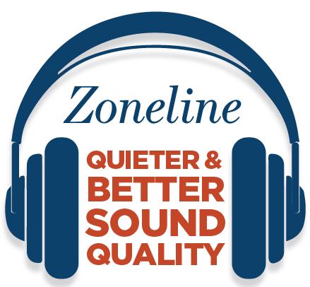 Zoneline sound quality