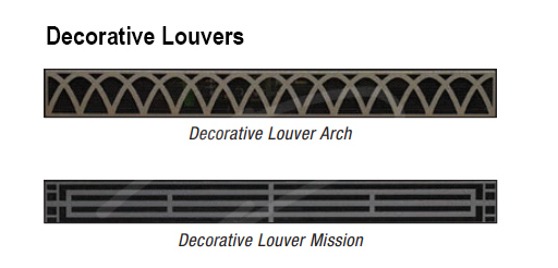 Fireplace Louvers