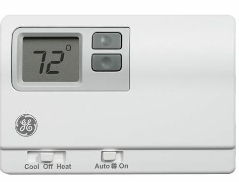 General Electric RAK148P2 Programmable Digital Thermostat for Heat Pumps