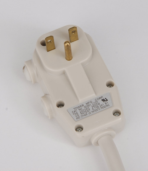 Ge Rak315p 15 Amp Power Cord For Zoneline Ptacs