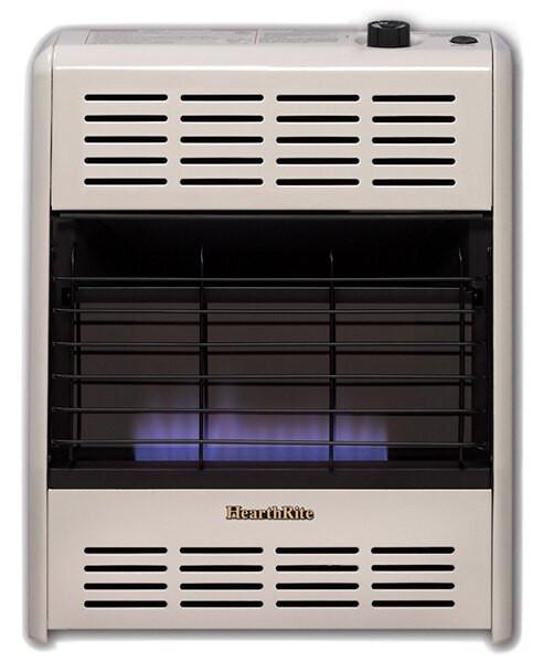 Hearthrite Hb20t 20000 Btu Blue Flame Vent Free Gas Heater