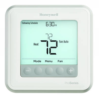 Honeywell TH6210U2001 T6 Pro Series Programmable/Non-Programmable Thermostat