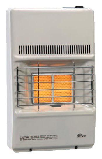 Strip Heater 500 C: SunStar SC10M1NG 9500 BTU Vent Free Infrared/Radiant Heater NG