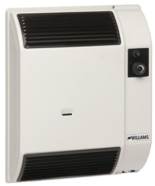 Williams 7400 Btu High Efficiency Direct Vent Wall Furnace