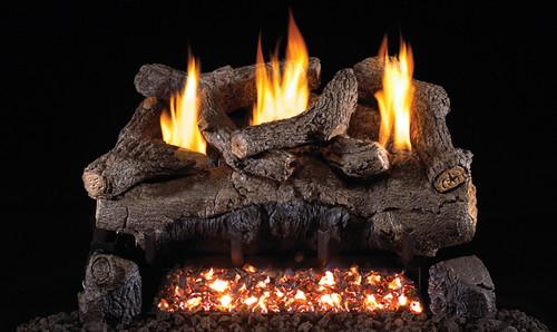 peterson evening fyre log set vent free burner rh totalhomesupply com  rh peterson gas fireplace inserts