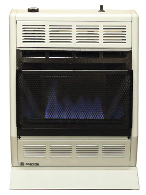Empire Bf20w 20000 Btu Blue Flame Ventless Heater