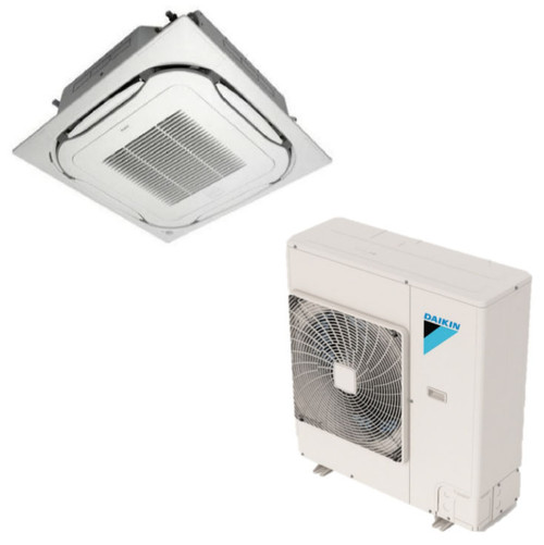 Daikin 24000 Btu Skyair Ceiling Cassette Single Zone Heat