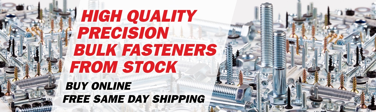 Aspen Fasteners | High Quality Precision Bulk Fasteners From Stock | Inch and Metric | Buy Online | Free Same Day Shipping