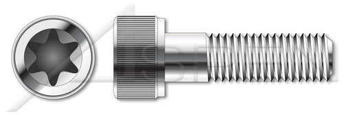M3-0.5 X 25mm ISO 14579, Metric, 6Lobe Torx(r) Socket Cap Screws, A2 Stainless Steel