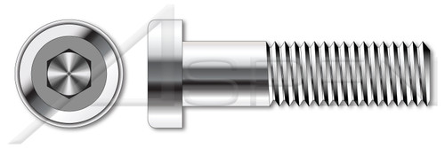 M6-1.0 X 14mm DIN 6912, Metric, Low Head Hex Socket Cap Screws, with Key Guide, A4 Stainless Steel