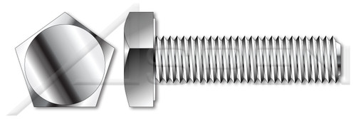 "3/8""-16 X 1-3/4"" Tamper Resistant Penta Head Security Bolts, AISI 304 Stainless Steel (18-8)"