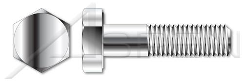 M16-2.0 X 60mm DIN 931 / ISO 4014, Metric, Hex Head Cap Screws Bolts, Part Thread, A4 Stainless Steel