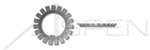 MB-2 DIN 5406, Metric, Shaft Lock Washers, Steel, Plain