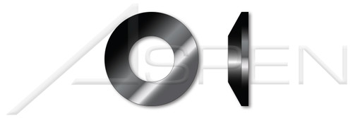 ID=3.2mm, OD=6mm, THK=0.3mm DIN 2093, Metric, Conical Disc Spring Washers, Chrome Vanadium Steel