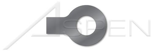 M12 DIN 93, Metric, Tab Washers, 1 Tab, Steel, Plain