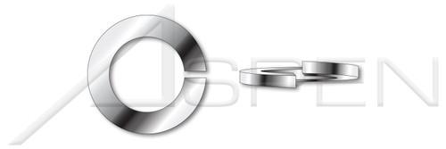 #2 Helical Spring Lock Washers, Medium Split, AISI 316 Stainless Steel, MS35338, DFARS