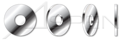 M16 DIN 1052, Metric, Standard Flat Washers, A4 Stainless Steel