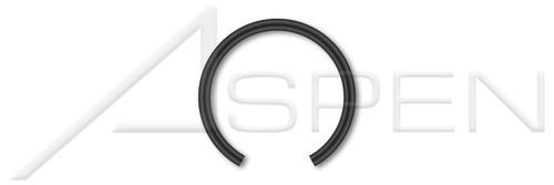 M60 DIN 7993B, Metric, Internal Snap Rings, Spring Steel