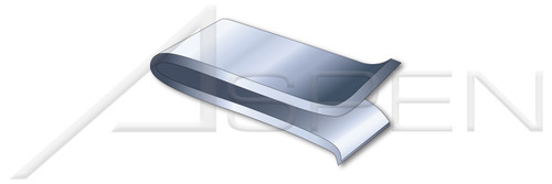 """Panel Range=0.060""""-0.090"""" Steel Spring Nuts, Type """"U"""" """"Speed"""" Nuts, Steel, Zinc Plated"""