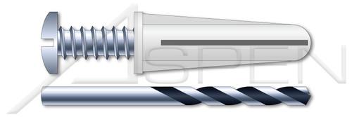 #8-#10 Plastic Anchor Kit, Conical Bantam