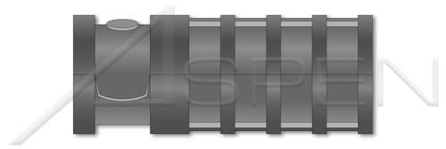 "3/8"" X 2-1/2"" Lag Screw Shield Anchors, Long, Zamac #5 Zinc Alloy"