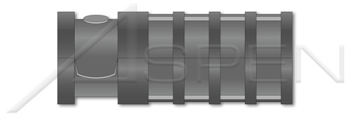 "5/16"" X 1-3/4"" Lag Screw Shield Anchors, Long, Zamac #5 Zinc Alloy"