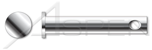 """1/4"""" X 1-1/4"""" Clevis Pins, AISI 304 Stainless Steel (18-8)"""