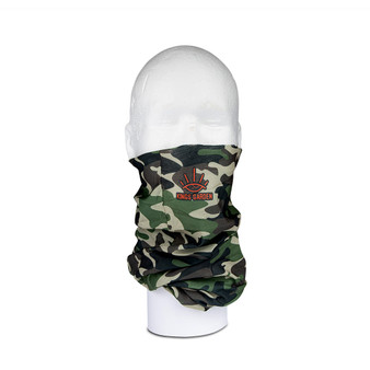 Kings Multi-Functional Neck Tube – Camo and Orange