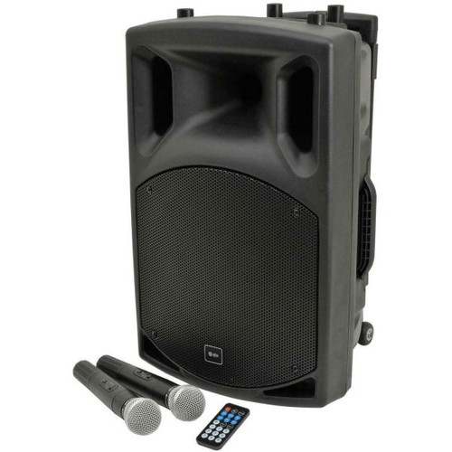 "QTX QX12PA 12"" Portable PA System with Bluetooth 2"