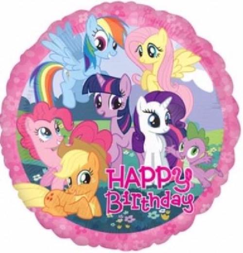 Happy Birthday My Little Pony 18 Inch Foil Balloon