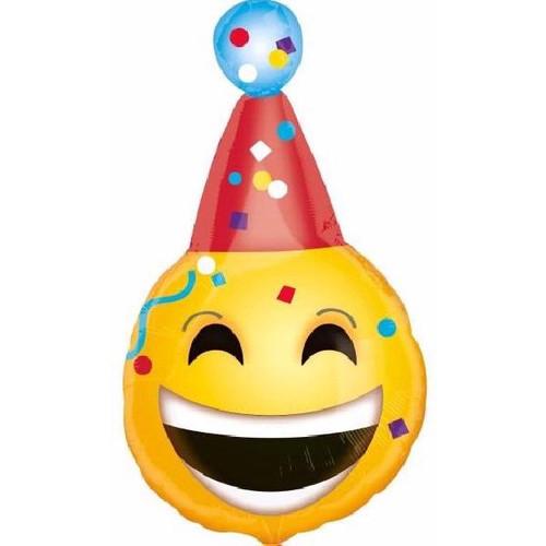 Emoji JNR 18 Inch Foil Balloon